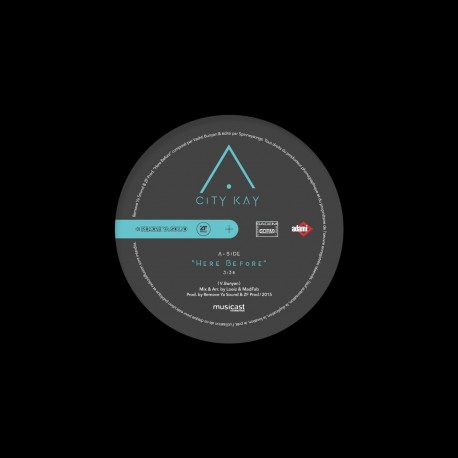 CITY KAY - Here Before (Feat Cornel Campbell - vinyle)
