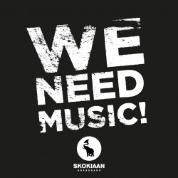 Skokiaan Brass Band - We need music ! (Digital)