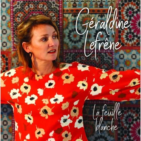 GÉRALDINE LEFRÊNE - LA FEUILLE BLANCHE