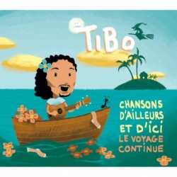 CHANSONS D'AILLEURS ET D'ICI - THIBAUT GUERIAUX