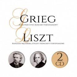 SUITE PEER GYNT, CONCERT POUR PIANO - GREIG LISZT