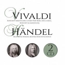 GRANDS COMPOSITEURS: CONCERTS DE VIOLON : LES QUATRE SAISONS, NO 6 A MINEUR, CONCERTO DE MANDOLINE - VIVALDI / HÄNDEL