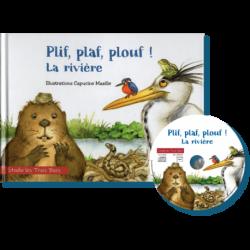 PLIF, PLAF, PLOUF ! LA RIVIÈRE - STUDIO LES TROIS BECS