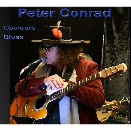 COULEURS BLUES - PETER CONRAD