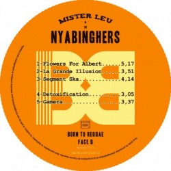 BORN TO REGGAE - MR LEU / THE NYABINGHERS